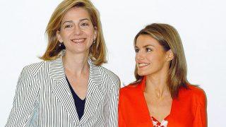 La infanta Cristina y la reina Letizia en una imagen de archivo / Gtres