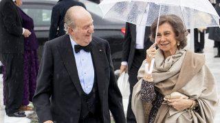 El Rey Juan Carlos y la Reina Sofía durante su visita a Noruega / Gtres