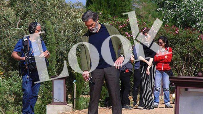 Antonio Banderas en el set de rodaje /LOOK
