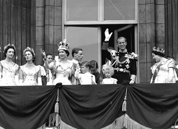 Isabel II y príncipe Felipe