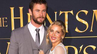 Chris Hemsworth y Elsa Pataky en una imagen de archivo / Gtres