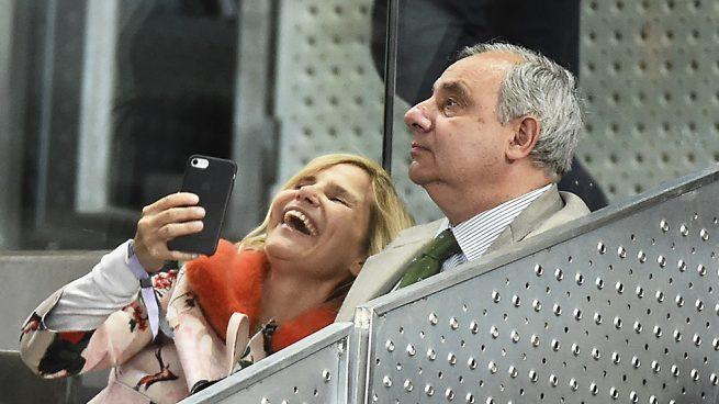 Eugenia Martínez de Irujo y Fernando de Irujo en el Mutua Madrid Open /Gtres