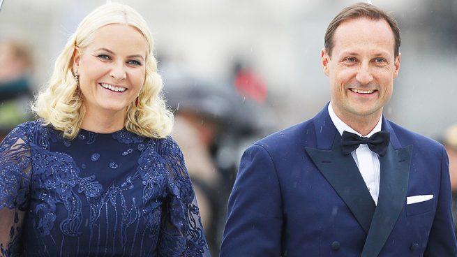 Haakon de Noruega y Mette Marit