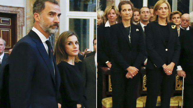 Análisis no verbal del encuentro de la Familia Real