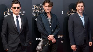 Orlando Bloom, Johnny Depp y Javier Bardem / Gtres