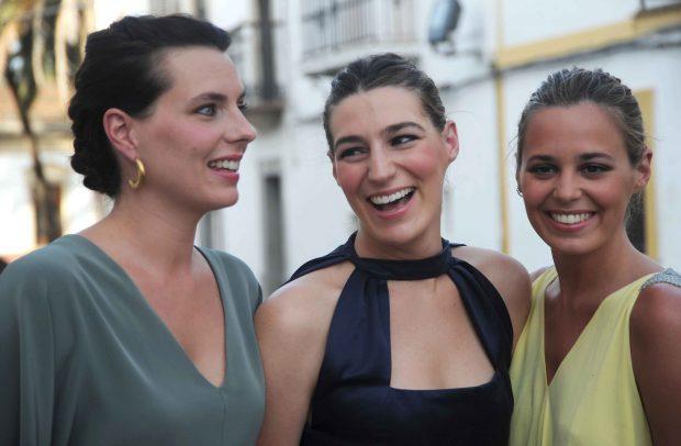 Alejandra, Eugenia y Claudia en una imagen de archivo /Gtres