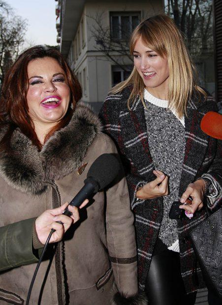 Alba Carrillo y Teresa Bueyes a la llegada de un juicio en Madrid /Gtres