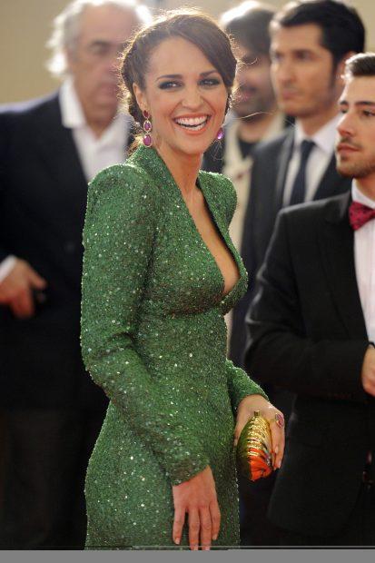 El vestido de 'Dolores promesas' que llevó Paula Echevarria