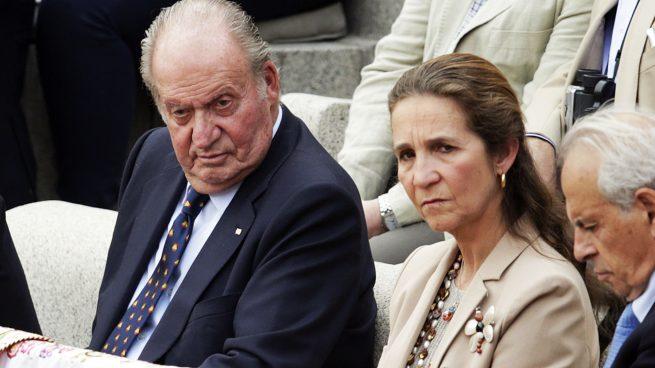Don Juan Carlos y la infanta Elena, incondicionales de San Isidro
