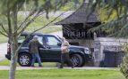Los Padres de Pippa Middleton visitan la iglesia de San Marcos