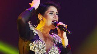 La cantante Rosa López durante el concierto «OT El Reencuentro» en Barcelona / Gtres