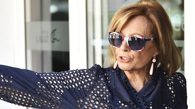 La periodista María Teresa Campos en imagen de archivo