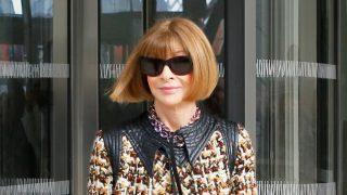 Anna Wintour, editora jefa de la edición estadounidense de la revista Vogue. / Gtres