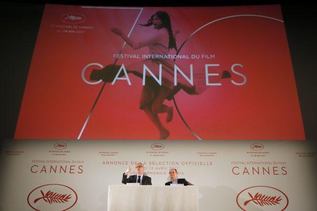 Cartel oficial de la 70ª edición de Cannes