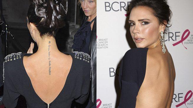 Victoria Beckham Tatuajes