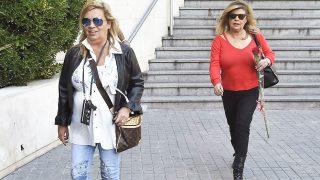 Terelu Campos y Carmen Borrego en una imagen reciente en el hospital / Gtres