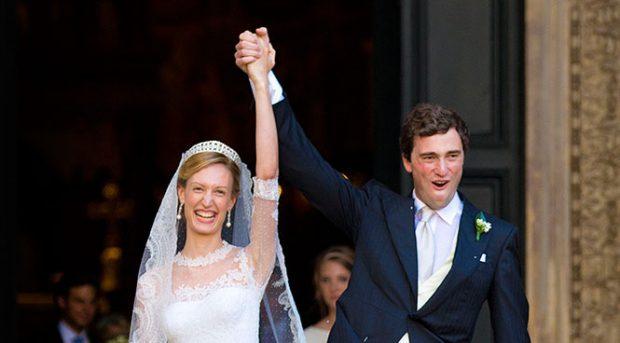 Amadeo de Bélgica y Lili Rosboch