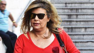 Terelu Campos a la salida del hospital tras visitar a su madre / Gtres