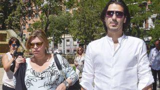 Maximiliano Arrocet y Terelu Campos en el Hospital / Gtres