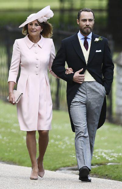 Carole y James Middleton
