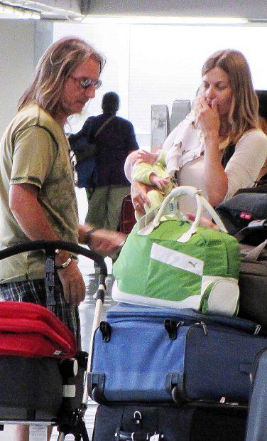 Giorgio y Eva con su pequeño en el año 2011 /Gtres