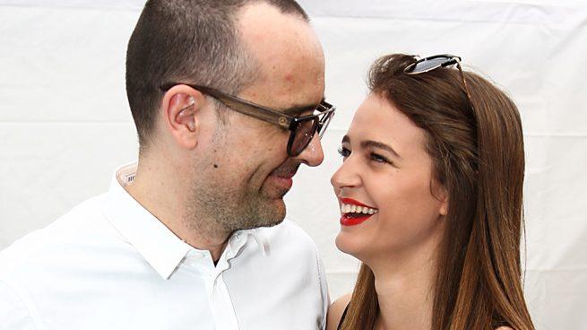 Risto Mejide y la modelo Laura Escanes en una imagen de archivo /Gtres