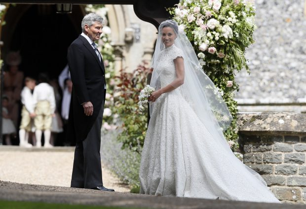 Pippa y Michael Middleton