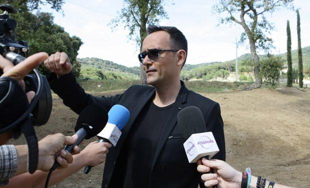 Risto Mejide atiende a los medios /Gtres