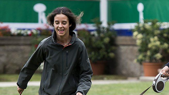 Victoria Federica durante el torneo /Gtres