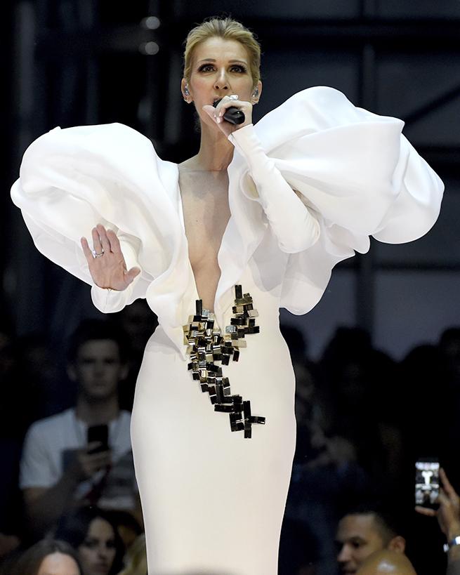Celine Dion billboard