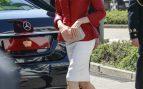 El look bicolor de Letizia al detalle / Gtres