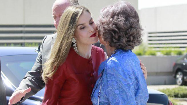 Letizia recibe a doña Sofía / Gtres