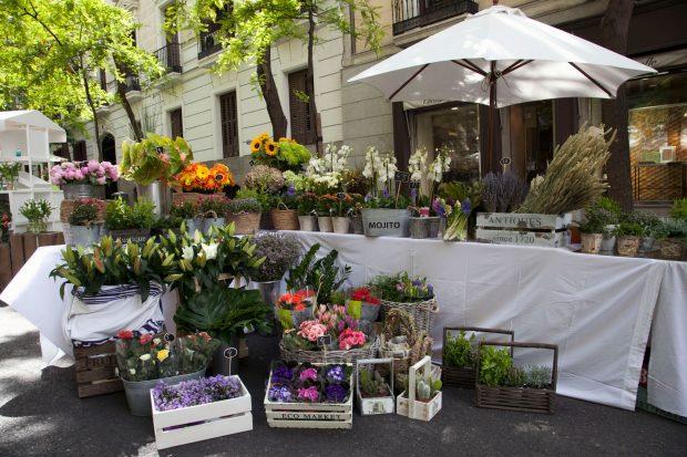 Las mejores floristerías de Madrid se darán cita en la tercera edición del Mercado de las Flores