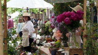 Una imagen de la pasada edición del Mercado de las Flores de Jorge Juan.