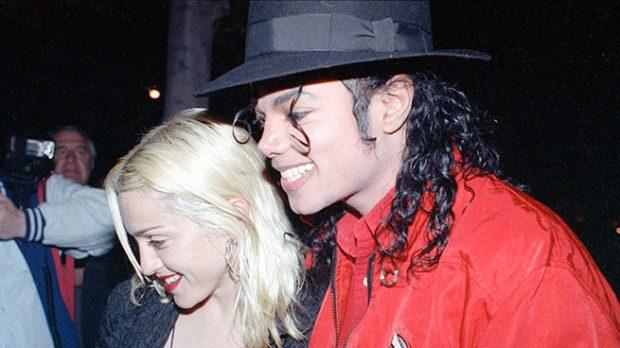 Madonna y Michael Jackson