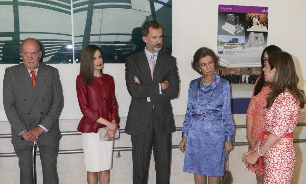 Los cuatro reyes de España