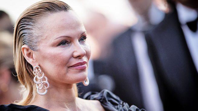 Pamela Anderson, irreconocible en Cannes