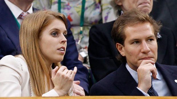 Princesa Beatrice y Dave Clark