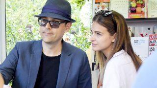 Risto Mejide y la modelo Laura Escanes en imagen de archivo/ Gtres