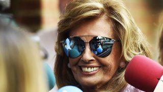 PINCHA EN LA FOTO PARA VER LA GALERÍA | Primeras declaraciones de Teresa Campos / Gtres