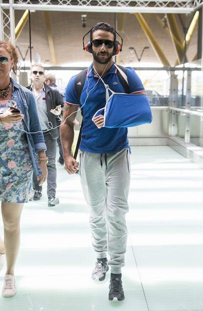 Eliad Cohen en el aeropuerto de Madrid /Gtres