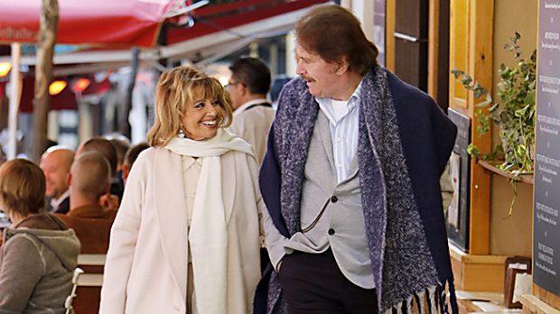 María Teresa Campos y Edmundo en una imagen de archivo /Gtres