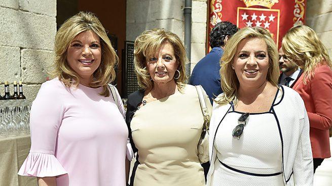María Teresa Campos y sus hijas Terelu y Carmen en una imagen de archivo /Gtres