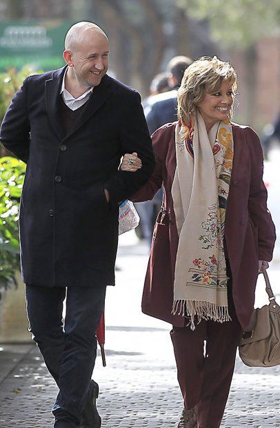 María Teresa Campos junto a Gustavo, su hombre de confianza /Gtres