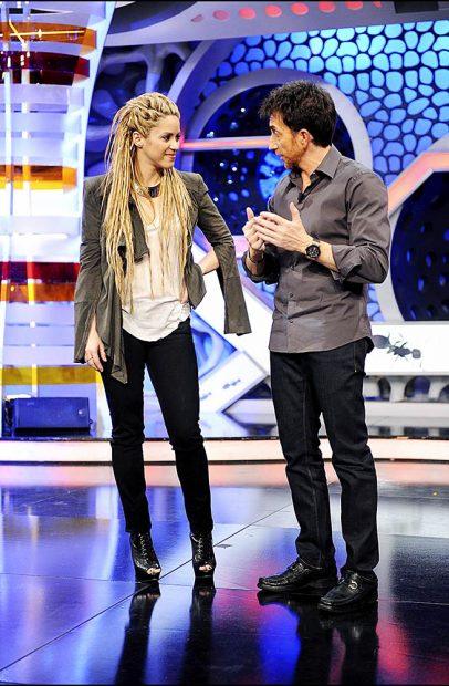 Shakira y Pablo Motos en 'El Hormiguero' /Gtres