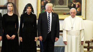 La visita de los Trump al Vaticano / Gtres