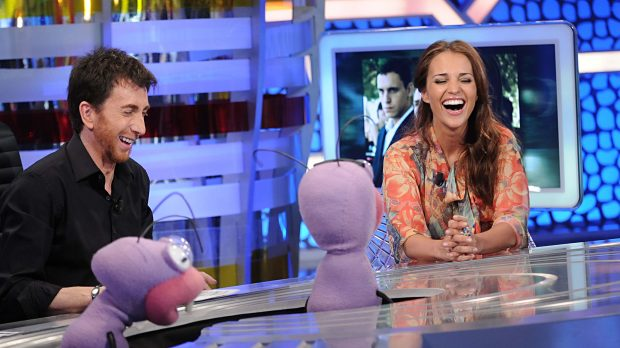 Paula Echevarría durante una entrevista con Pablo Motos /Gtres