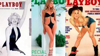 PINCHA EN LA IMAGEN PARA VER LA GALERÍA / Montaje portadas Playboy / Playboy