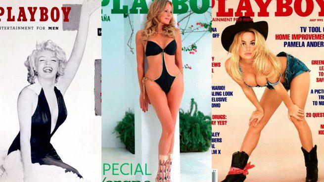 Montaje portadas Playboy