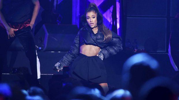 Ariana Grande durante un concierto /Gtres